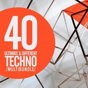 VARIOUS - 40 Ultimate & Different Techno Multibundle