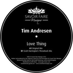 TIM ANDRESEN - Love Thing