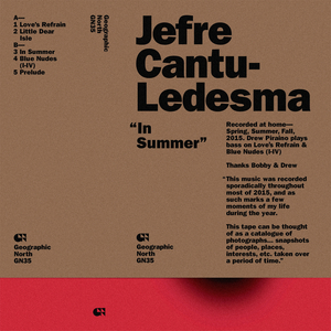 JEFRE CANTU-LEDESMA - In Summer