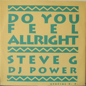 DJ POWER - Do You Feel Alright EP