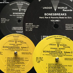 FRANKIE BONES - Bonesbreaks Vol 1 & 2