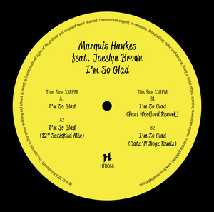 MARQUIS HAWKES feat JOCELYN BROWN - I'm So Glad