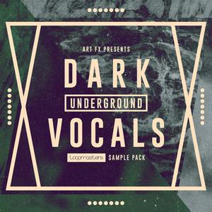 LOOPMASTERS - Dark Underground Vocals (Sample Pack WAV)
