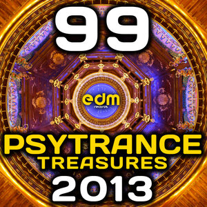 VARIOUS - Psy Trance Treasures 2013 (99 Best Of Full-on, Progressive & Psychedelic Goa Hits)