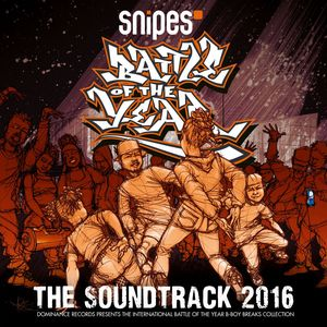 VARIOUS - Battle Of The Year 2016 - The Soundtrack