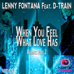 LENNY FONTANA/D-TRAIN - When You Feel What Love Has (Remixes Part 2)