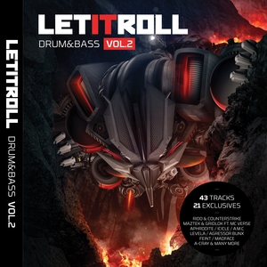 VARIOUS - Let It Roll: Drum & Bass Vol 2 (unmixed Tracks)