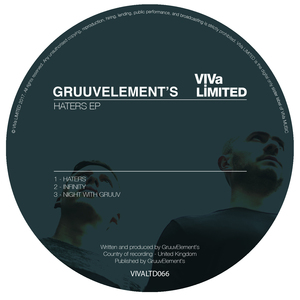 GRUUVELEMENT'S - Haters EP