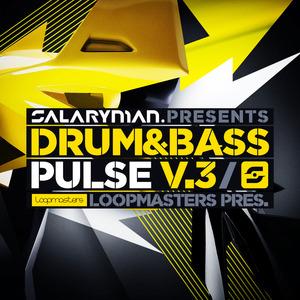 SALARYMAN - Drum & Bass Pulse Vol 3 (Sample Pack WAV/APPLE/LIVE/REASON)