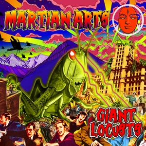 MARTIAN ARTS - Giant Locusts