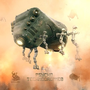 GANCHER/RUIN/DAMAGE INC - Psycho Technodrome EP