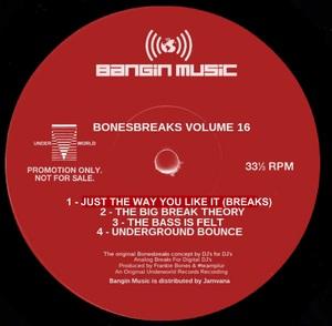 FRANKIE BONES - Bonesbreaks Vol 16