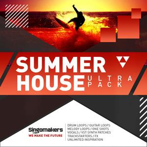 SINGOMAKERS - Summer House Ultra Pack (Sample Pack WAV/APPLE/LIVE/REASON)