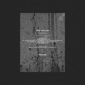 SVEN SCHALLER - Forget The World