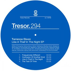 TERRENCE DIXON - Like A Thief In The Night