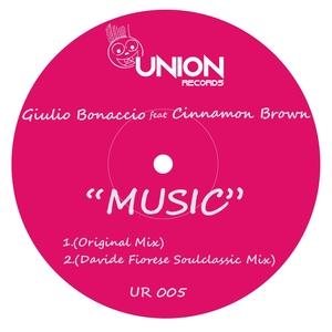 GIULIO BONACCIO feat CINNAMON BROWN - Music