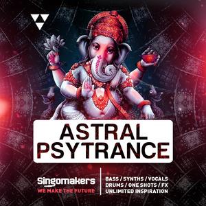 SINGOMAKERS - Astral Psytrance (Sample Pack WAV/APPLE/LIVE/REASON)