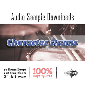 AUDIO SAMPLE DOWNLOADS - Character Drums (Sample Pack WAV)