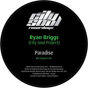 RYAN BRIGGS (CITY SOUL PROJECT) - Paradise