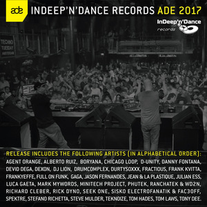VARIOUS - InDeep'n'Dance Records ADE 2017