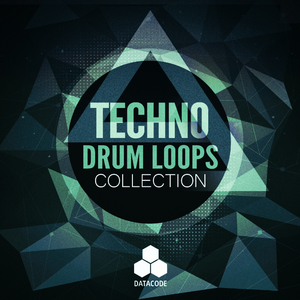 DATACODE - FOCUS: Techno Drum Loops Collection (Sample Pack WAV)
