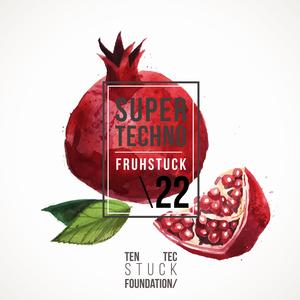TECHNO RED/VARIOUS - Super Techno Fruhstuck 22