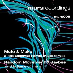MUTE/RANDOM MOVEMENT - Essential Forms (Klute Remix) / Same Ol' Me