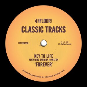 KEY TO LIFE feat SABRINA JOHNSTON - Forever