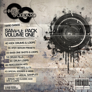 FREESTYLE DIGITAL RECORDINGS - Charlie Goddard Sample Pack: Hard Dance Vol 1 (Sample Pack WAV)