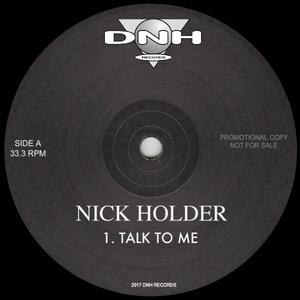 NICK HOLDER - Talk To Me