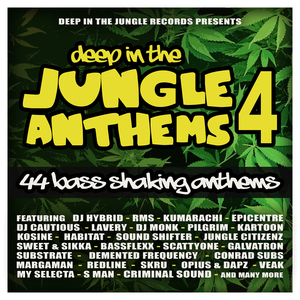 VARIOUS - Deep In The Jungle Anthems 4