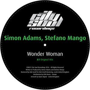 SIMON ADAMS & STEFANO MANGO - Wonder Woman