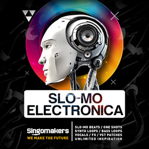SINGOMAKERS - Slo-Mo Electronica (Sample Pack WAV/APPLE/LIVE/REASON)