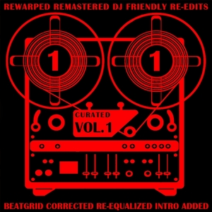 SAM JANIPERO - Curated Vol 1 (Rewarped Remastered DJ Friendly Re-Edits)