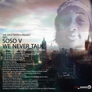 SOSO V - We Never Talk
