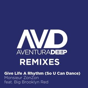 MONSIEUR ZONZON feat BIG BROOKLYN RED - Give Life A Rhythm (So U Can Dance) (Remixes)