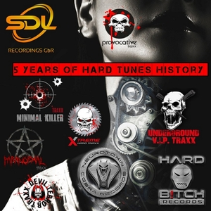 VARIOUS - 5 Years Of Hard Tunes History