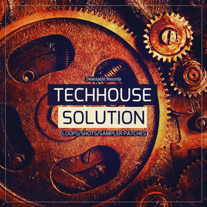 DELECTABLE RECORDS - Tech House Solution (Sample Pack WAV/LIVE)