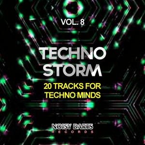 VARIOUS - Techno Storm Vol 8 (20 Tracks For Techno Minds)