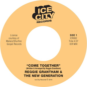 REGGIE GRANTHAM & THE NEW GENERATION - Come Together