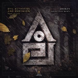 EVIL ACTIVITIES/ENDYMION/WILDSTYLEZ feat E-LIFE - Broken (Wildstylez Remix)