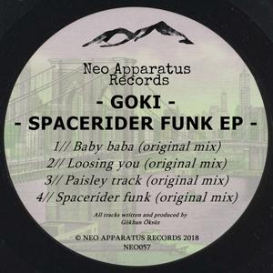 GOKI - Spacerider Funk EP