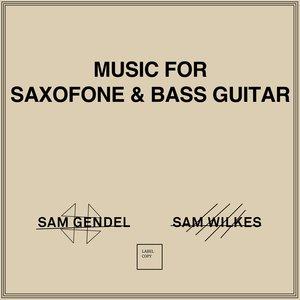 SAM GENDEL & SAM WILKES - Music For Saxofone & Bass Guitar