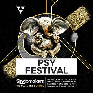 SINGOMAKERS - Psy Festival (Sample Pack WAV/APPLE/LIVE/REASON)