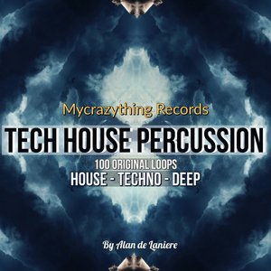 MYCRAZYTHING RECORDS - Tech House Percussion 1 (Sample Pack WAV)