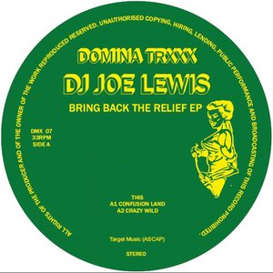 DJ JOE LEWIS - Bring Back The Relief EP