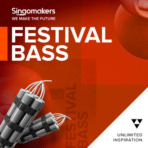 SINGOMAKERS - Festival Bass (Sample Pack WAV/APPLE/LIVE/REASON)