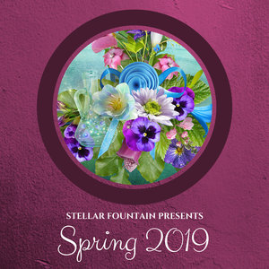 VARIOUS/DAMIEN SPENCER - Stellar Fountain Presents: Spring 2019