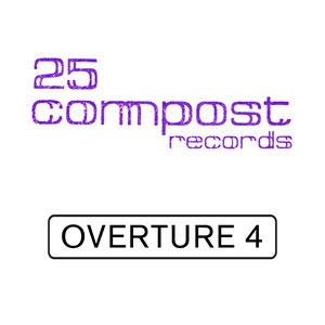 LORENZ RHODE/LIQUID PHONK/TRUEBY TRIO - 25 Compost Records - Overture 4 EP