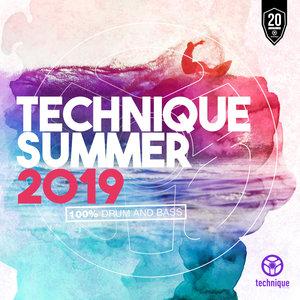 VARIOUS - Technique Summer 2019 (100% Drum & Bass)